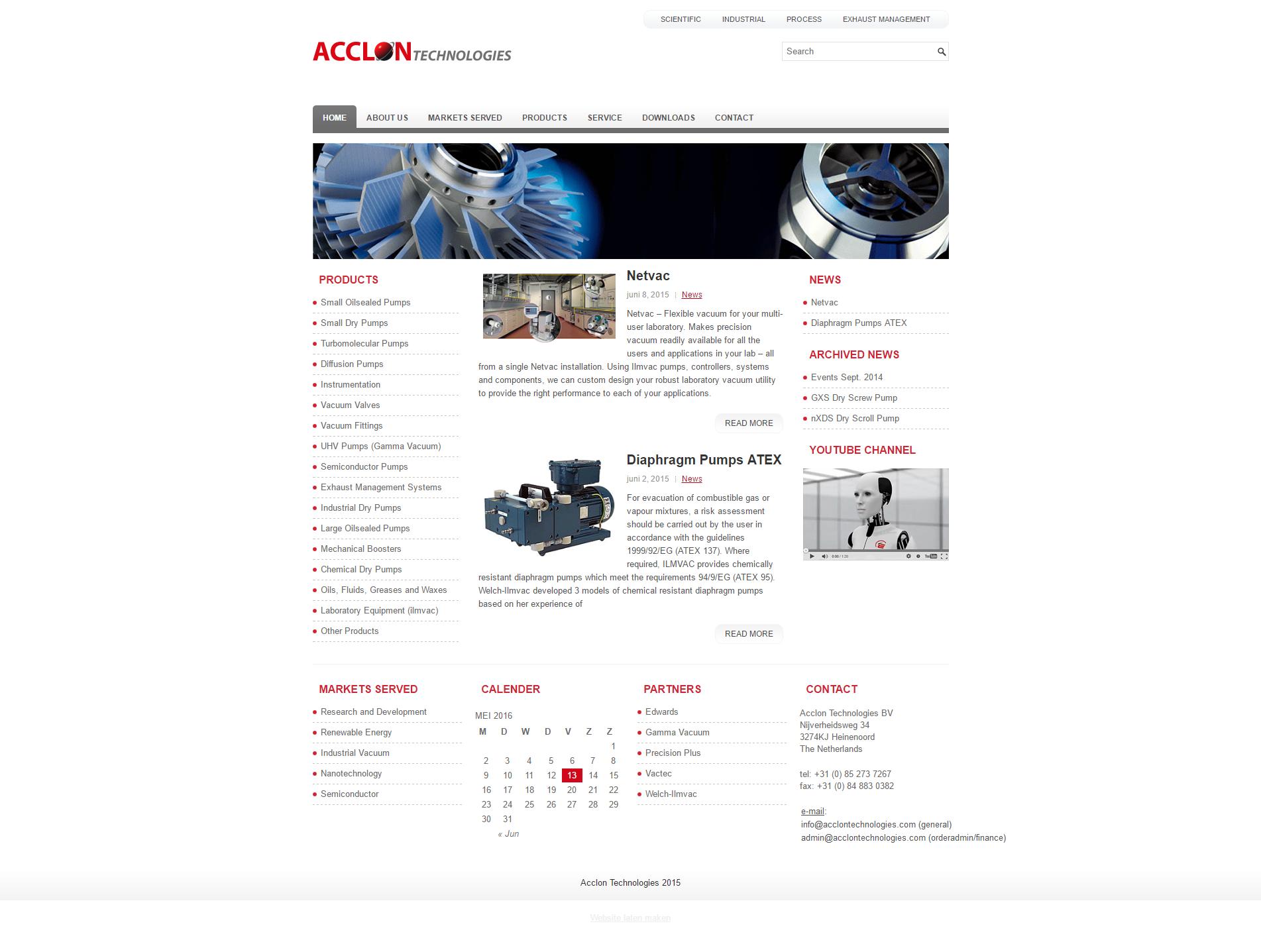 Zakelijke WordPress website