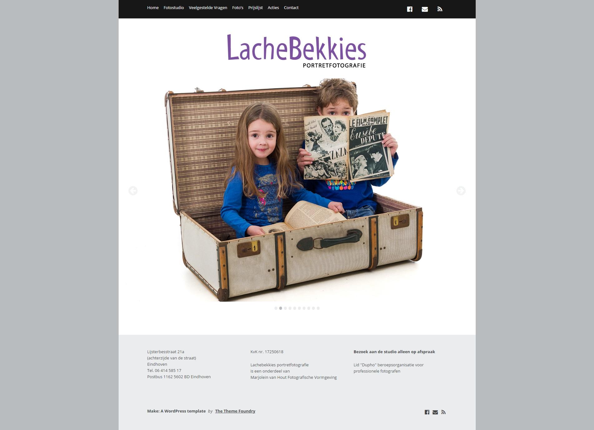 Lachebekkies portretfotografie